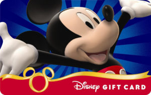 Buy discounted gift cards for The Disney Store