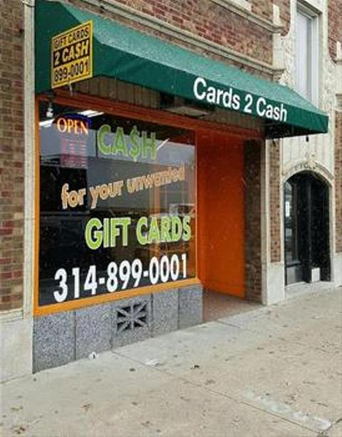Sell Gift Cards For Cash In St Louis Mo Cards2cash