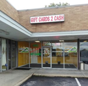 Sell unwanted gift cards for cash in Richmond VA