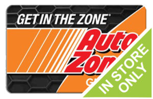 Buy Discounted Auto Zone Gift Cards Online
