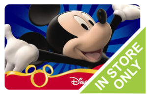 Buy Discount Disney Store Gift Cards Online