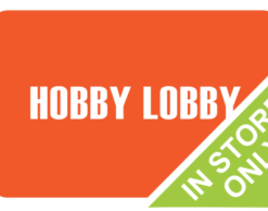 Buy Discounted Hobby Lobby Gift Cards