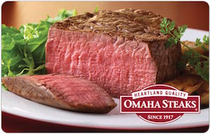 Buy an Omaha Steaks Gift Card at a Discount