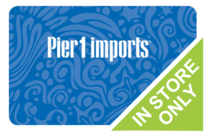 Save on Pier One Gift Cards Online