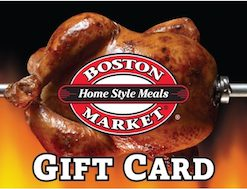 Get a Discount Gift Card for Boston Market