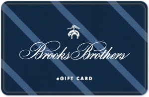 Buy a discount Brooks Brothers gift card online