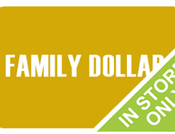 Buy a discount Family Dollar gift card