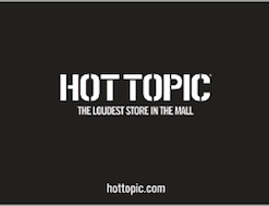 Buy a discount Hot Topic gift card