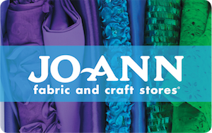 Buy a discount Jo-Ann Fabric and Crafts gift card