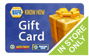 Buy or Sell Gift Cards for Napa Auto Parts