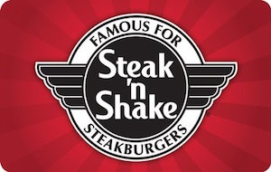 Buy a discount gift card for Steak 'n Shake
