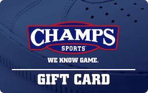 Buy a discount Champs Sports Gift Card