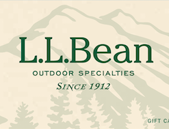 Best prices on discount L.L. Bean gift cards
