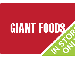 Buy a discount Giant Foods gift card